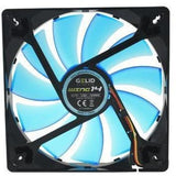 Gelid Solutions Wing 14 UV Blue 140mm High Performance Case Fan - Case Fan