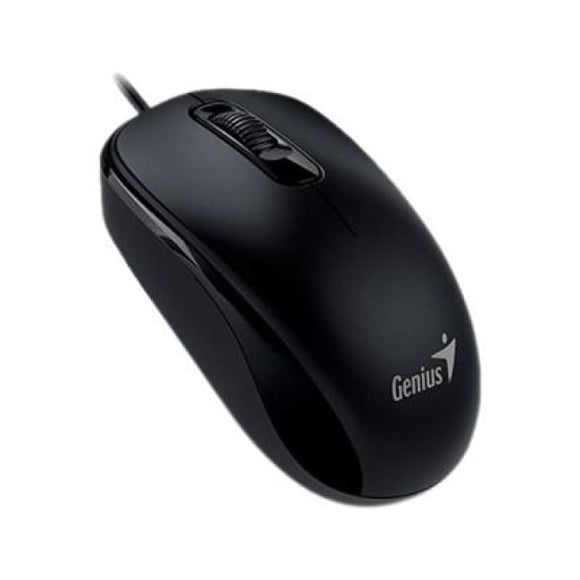 Genius Dx-110 Black Ps2 Full Size Optical Mouse - Mouse