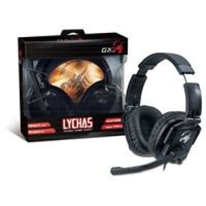 Genius Gx Gaming Lychas Hs-G550 Foldable Gaming Headset With Swivel Ear Cups