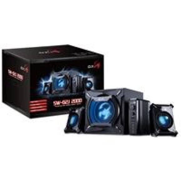 Genius Gx Gaming Sw-G2.1 2000 45W 2.1 Channel Gaming Speaker System