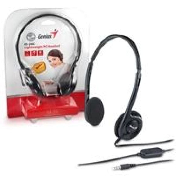 Genius Hs-200C Lightweight Pc Headset - Headphones