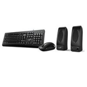 Genius Kms-U130 Keyboard Mouse And Speaker Combo - Keyboard And Mouse Sets