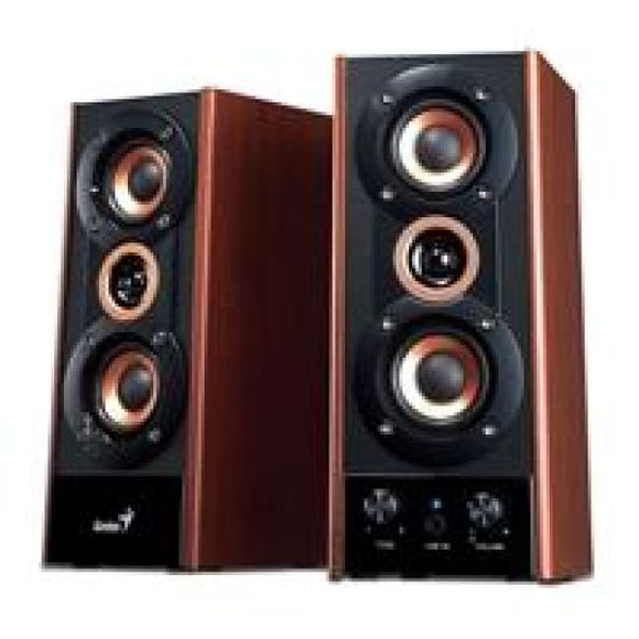 Genius Sp-Hf800A - 20W Wooden Speakers - Speakers