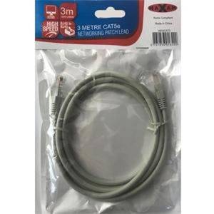 Maxam 3M Network Cable Cat5E Moulded Patch Lead - Network Cable