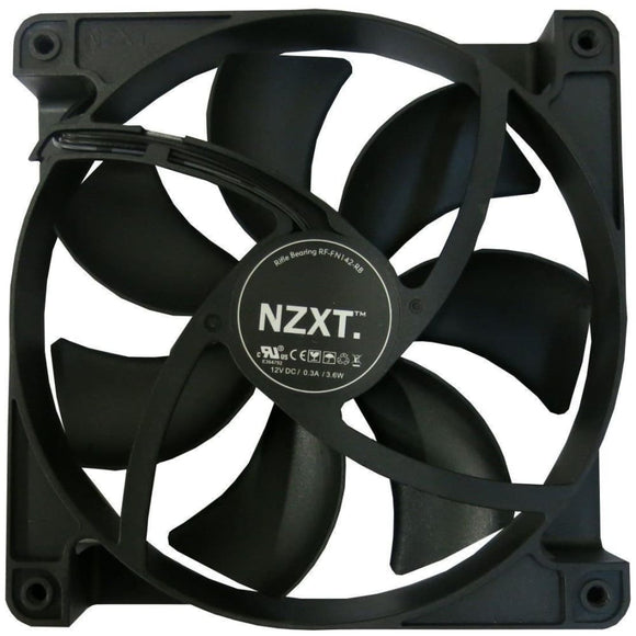 Nzxt 14Cm 140Mm Black Fan - Case Fan