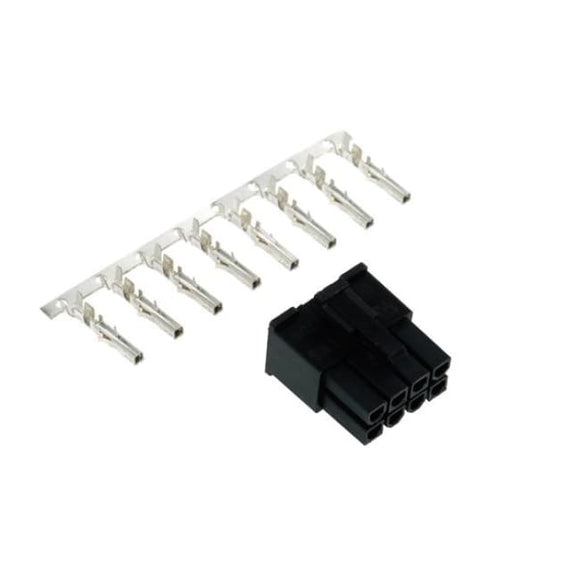 Phobya Atx Power Connector 8Pin Male Inkl. 8 Pins - Black - Connectors