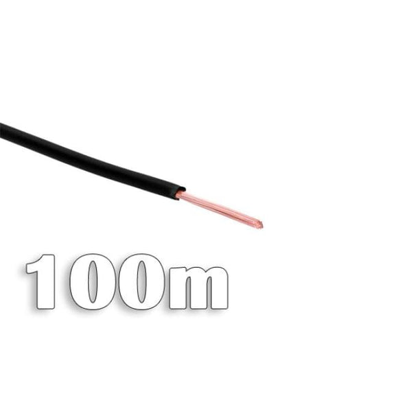 Phobya Computer Cable 100M - Black - Connectors