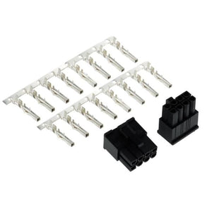 Phobya Vga Power Connector 8Pin Male Incl. 8 Pins - 2 Pcs Black - Connectors