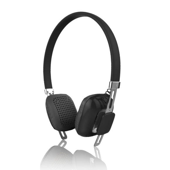 Psyc Orchid Wireless Bluetooth Headphone Headset - Jet Black - Headphones