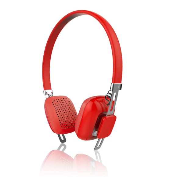 Psyc Orchid Wireless Bluetooth Headphone Headset - Red - Headphones