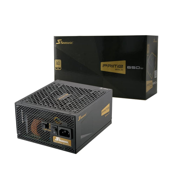Seasonic Prime 650W Gold Psu 80 Plus Modular Active Pfc