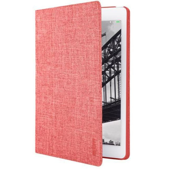 Stm Atlas Folio Case Stand Cover For Ipad Air 2 - Red - Tablet Case