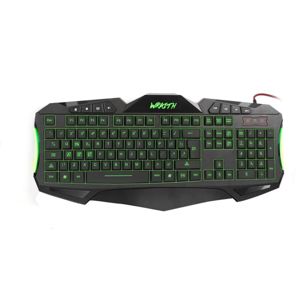 Sumvision Nemesis Wraith 7 Colour Gaming Keyboard - Keyboard