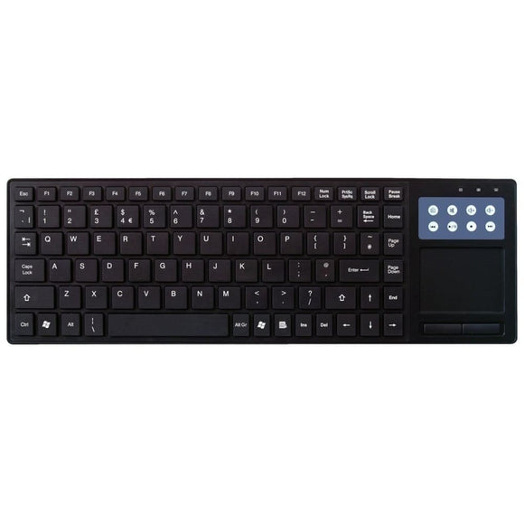 Tpad Usb Multimedia Keyboard With Touchpad
