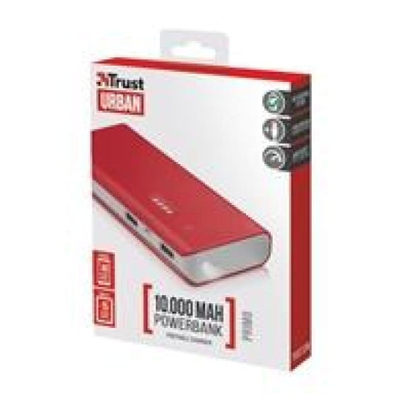 Trust 22073 Primo 10000Mah Red Power Bank