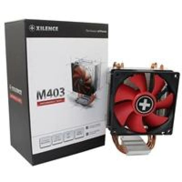 Xilence Xc027 M403 Universal Socket Single Fan Black & Red Fan Cpu Cooler