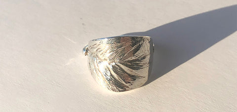 Heart Grass Ring