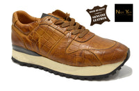 Men's Brown Shoes in Genuine Leather Made in Portugal