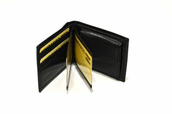 High Quality Wallet Mens Soft Leather Bifold ID Credit Card Handmade