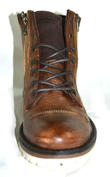 Men's Leather Brown Boots Genuine Leather