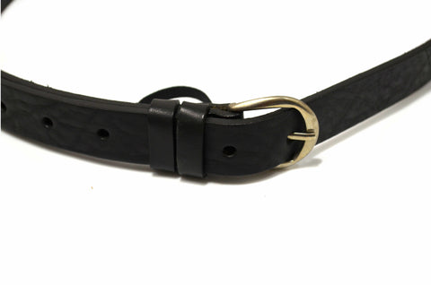 Genuine Leather Dress Casual Black Belt