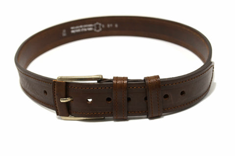 Genuine Leather Dress Casual Brown Belt