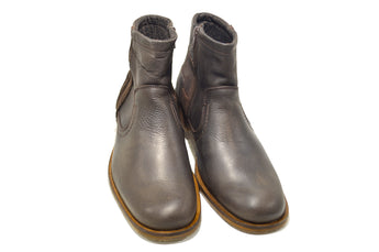 Classic Mens Brown Boots in Genuine Leather High Quality