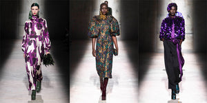 Dries Van Noten A/W Women Collection 2020 - 21