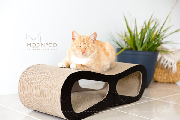 Cardboard Cat Scratch Pad / Lounges, Pods and Boxes / Modnpod