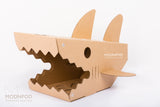 Cat Box / Shark Cat Pod / Modnpod Cardboard Creations