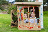 Cubby Art House / Modnpod Cardboard Creations