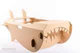 Cardboard Shark / Indoor activities / Modnpod