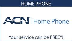 Acn home phone , your service can be free!*