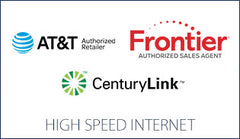 AT&T, Frontier, Century Link, (High Speed Internet)