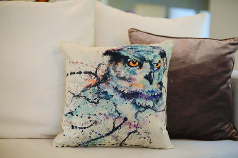 """Owl"" pillow case"