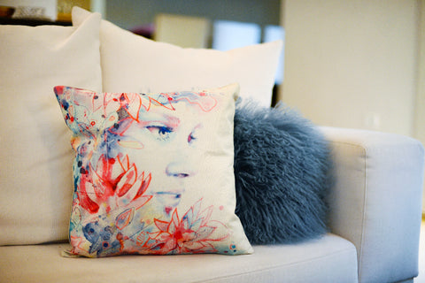 """Bloom"" pillow case"