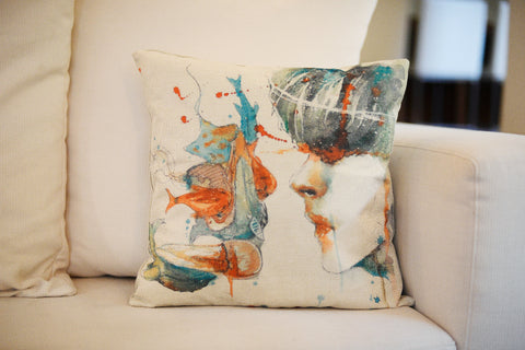 """Reflection"" pillow case"