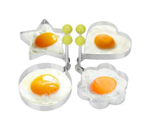 Stainless Steel Fried Egg Mold (4 pieces Set)