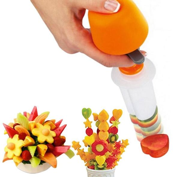 Push & Pop Fruit & Vegetable Shaper