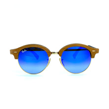 Load image into Gallery viewer, RAY-BAN // CLUBROUND WOOD 4246-M 1180/7Q