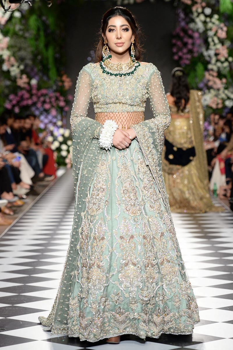 Heavy Pakistani Bridal Wear