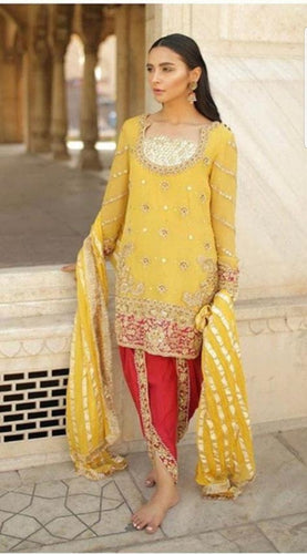 Yellow Tulip Salwar Suit