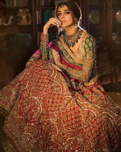 Traditional Pakistani Colors Bridal Lehenga