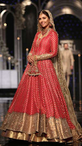 Traditional Red Bridal Piece