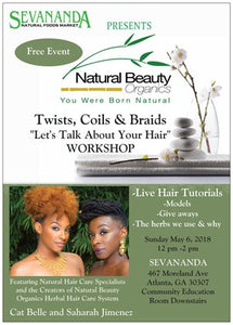 Sevananda Presents: Twists, Coils, & Braids