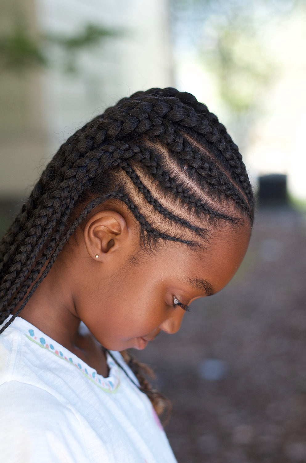 Cornrows/Braids without Extensions - Deposit
