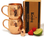 Pure Copper Moscow Mule Mugs