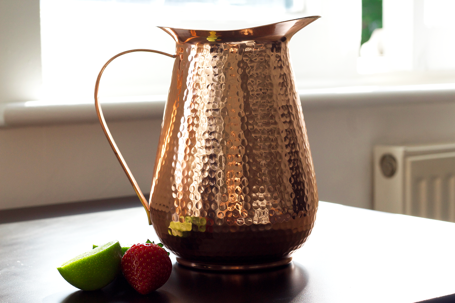 Pure Copper Pitcher (Extra Large 68 OZ)