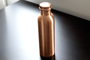 Pure Copper Water bottle - Smooth