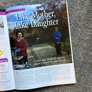 Mother-Daughter Artists Magazine Article